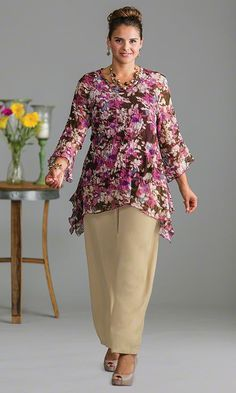 Windsor Lined Tunic / MiB Plus Size Fashion for Women / Spring Fashion  http://www.makingitbig.com/product/5103