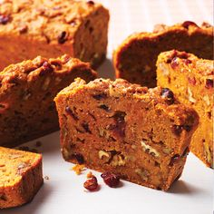 Eating a slice of our moist, slow-cooker pumpkin bread may actually improve your energy, thanks to its hearty dose of potassium.