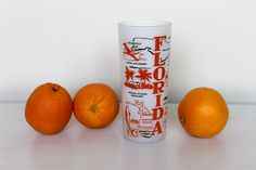 Orange you glad you found this vintage Florida souvenir glass for your Tallahassee lassie. $4.00, via Etsy.