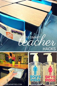 10 Smart Teacher Hacks!!