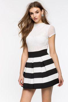 815e691a64e Flirtatious Skater Skirt Clothes For Sale