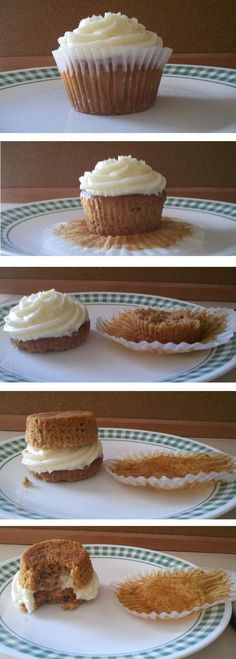 How to Eat a Cupcake: Create the perfect icing/cake ratio for ultimate deliciousness and mouth feel! by buzzfeed and http://thesocialreaction.wordpress.com/2012/05/02/cupcakes-how-to-really-eat-them/ #Cupcake #buzzfeed #thesocialreaction