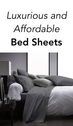 Luxurious and affordable fitted bed sheets made of high-quality bamboo yarns that will give you the best night sleep.