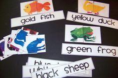 Doodle Bugs Teaching {first grade rocks!}: Brown Bear, Brown Bear activities