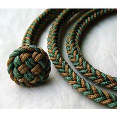 Falconry leash made of braided dacron. $25