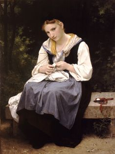 Young Worker, 1869 - William-Adolphe Bouguereau