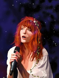 FLORENCE AND THE MACHINE (BY CRYSTAL)