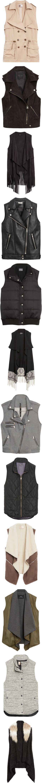 vests by hanger731x on Polyvore
