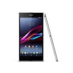 Sony Xperia Z Ultra LTE C6833 16GB  Unlocked Smartphone (White) -- For more information, visit image link.