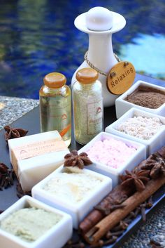 Spa products http://www.lagoonspaseminyak.com/