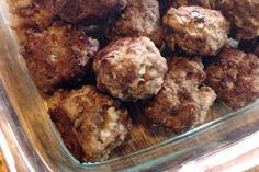 Gluten Free Meatballs: Versatile Dish. Could be teriyaki or Italian. Could use gf rice crispies cereal instead of breadcrumbs.