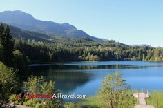 Whistler Lake British Columbia.   Travel Rock Bottom Prices!   #travel #travelmore #familytravel #vacation #trip