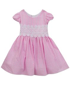 b6dd3a1ce NWT Rare Editions Baby Girls Striped Seersucker Dress and Panty Set 24  Months #RareEditions #