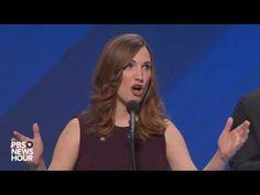 Sarah McBride, first transgender speaker at major political convention, ...