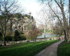 sights parks paris luxembourg buttes chaumont