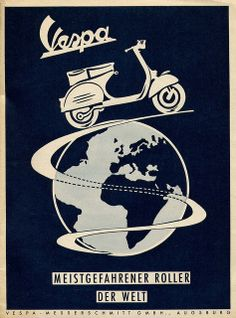 """When Piaggio first saw D'Ascanio's design he professed: """"Sembra una vespa"""" meaning """"it resembles a wasp"""" and the rest as they say is history. The design was an instant success and since its first inception way back in 1946 some 16 million Vespas have been sold."""