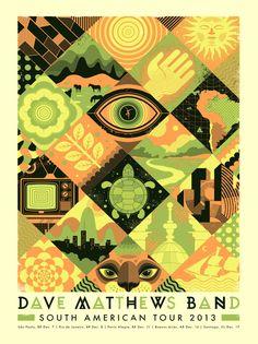 Dave Matthews Band - South America Tour 2013