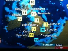 This weather forecast. | The 41 Most British Things That Have Ever Happened