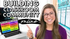 10 EASY Ways to Build Classroom Community VIRTUALLY Teaching Strategies, Teaching Tools, Pocketful Of Primary, Future Videos, Instructional Technology, Classroom Community, Community Building, Google Classroom, Remote