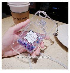 Luxus-Parfüm-Flaschen Treibsand Diamant mit dem Seil Handyhülle für…