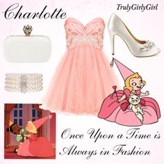 """Disney Style: Charlotte (3)"" by trulygirlygirl ❤ liked on Polyvore"