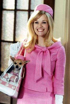 "Reese Witherspoon as Elle Woods in ""Legally Blonde"""