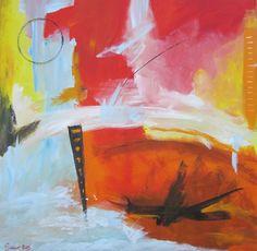 quadro-astratto-moderno-olio su tela 80x80