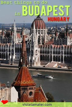 A guide of the best things to do in Budapest, the capital city of Hungary. Located in Eastern Europe, Budapest is one of the most beauriful cities on this area. Visit Budapest, Budapest Hungary, Europe Travel Tips, Travel Destinations, Travel Guides, European Travel, Budapest Travel Guide, Danube River Cruise, Budapest Things To Do In