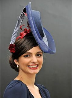 Melbourne Hat designer Rebecca Share won the Crown Oaks Day Millinery Award. Description from hatlife.com. I searched for this on bing.com/images
