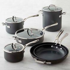 Caphalon Elite Nonstick 10-Piece Cookware Set | Williams-Sonoma