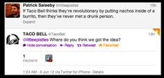 The Best Of Taco Bell's Twitter Account - BuzzFeed Mobile  this is hilarious