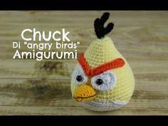 Chuck degli Angry birds Amigurumi | World Of Amigurumi - YouTube