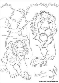 The Wild coloring picture
