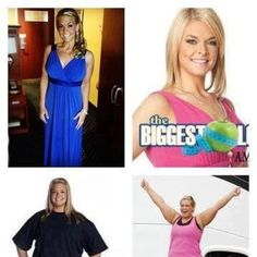 This gal was on the biggest loser.  She lost alot of weight and now has signed up to be a distributor with It Works.