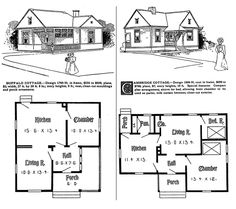 1000 Turn-of-the-Century Houses: With Illustrations and