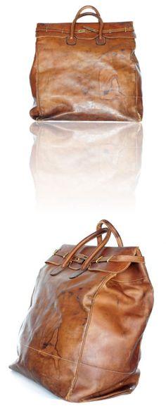 1930s Gucci travel bag.