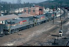 RailPictures.Net Photo: SBD 1522 Seaboard System GE U25C at Manchester, Georgia by Bernie Feltman