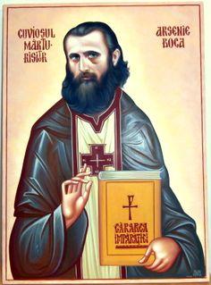 PARINTELE ARSENIE BOCA Life Of Jesus Christ, Jesus Lives, Byzantine Art, Orthodox Christianity, My Works, Romania, Saints, History, Men