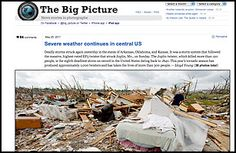 The Big Picture -With photos, to quote an old Pontiac ad, wider is better. The influential Boston Globe photoblog the Big Picture has been proving that since 2008 by running news images from sources like the AP at a width of 990 pixels — by Web standards, practically the equivalent of Imax. Whether the pictures in question depict epic destruction, national celebration or dogs in the news, you learn things from them that you wouldn't if they were displayed in typical itty-bitty dimensions…