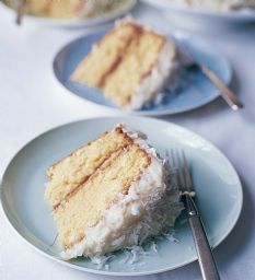 Hands down best coconut cake ever! Easy to make ;)