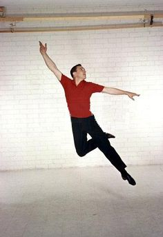 Gene Kelly, one of my favorite dancers and actors, he made ballet look cool in the movies