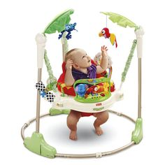 Agustina's favorite!  Jungle Jumperoo - by Fisher Price    http://www.fisher-price.com/fp.aspx?st=2002=product=bgetn=38839