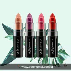 As cores da primavera em seus lábios 💄😍🌸🌹 . ✔ www.corehumor.com.br ✔ contato@corehumor.com.br ✔ WhatsApp (51) 91568178 .  #corehumor #lojaeblog #lojaonline #vult #vultcosmetica #make #makeup #maquiagem #maquillaje #instamake #makelovers #beleza #beauty #beautyful #instabeauty #like4like #batomvult