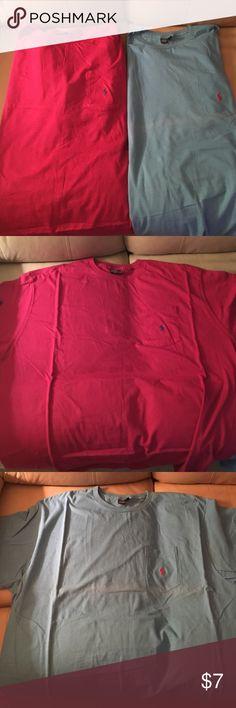 2-Mens XL Ralph Lauren T-Shirts 2-Mens XL Ralph Lauren T-Shirts Tops Tees - Short Sleeve