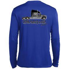 MBIT Trucker How Sweet Tall Long Sleeve Moisture Absorbing Shirt