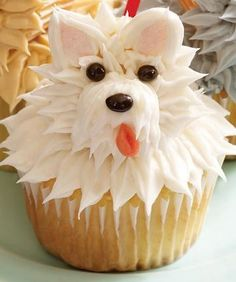Pupcakes! Cupcakes That Look Like Puppies 1 - https://www.facebook.com/diplyofficial