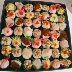 手鞠寿司風~手巻き寿司