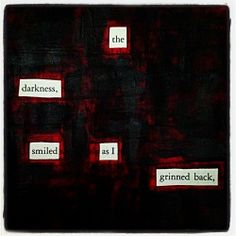 Looking Into An Abyss: Make Blackout Poetry, Blackout Poetry, Poetry