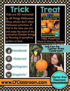 Tricks and treats ebook for upper elementary free halloween tricks and treats ebook for upper elementary free halloween activities and ideas for the classroom pinterest multiplication teacher and students fandeluxe Ebook collections