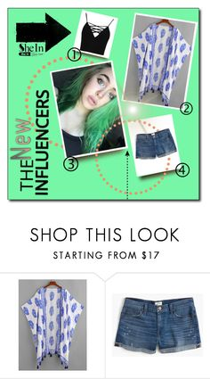 """Untitled #588"" by beautiful-723 ❤ liked on Polyvore featuring J.Crew and Boohoo"